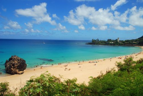 Waimea Bay, Oahu, Hawaii
