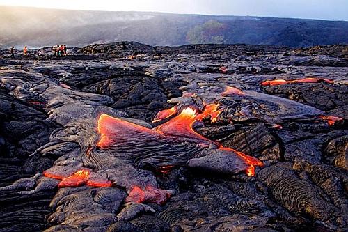 Lava near Kona, Hawaii