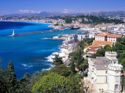 Nice in the south of France, Europe