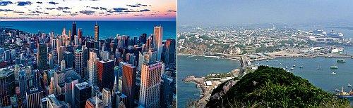 Chicago and Mazatlan, Mexico
